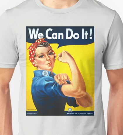 Vintage poster - Rosie the Riveter Unisex T-Shirt