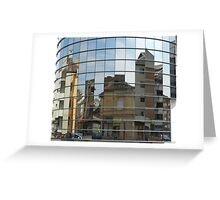 Distorted Reflections Greeting Card