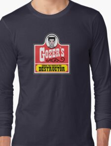 Gozer's - Choose the form of the destructor  Long Sleeve T-Shirt