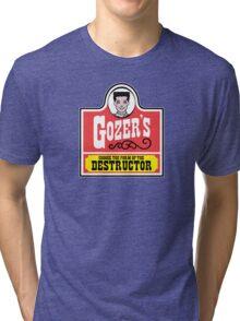 Gozer's - Choose the form of the destructor  Tri-blend T-Shirt