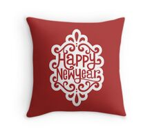 Happy New Year 1 Throw Pillow