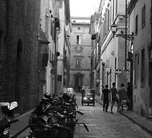 Street in Florence by Callie Smith