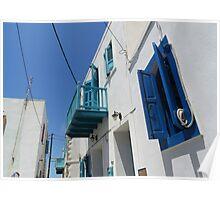 street nisyros greece Poster