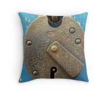 pick the lock Throw Pillow