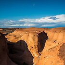 Western Landsdcape at Moab Utah by DHParsons