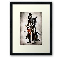 Aragorn -  Lord of the Rings Framed Print