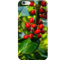 Holly Berries iPhone Case/Skin