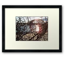 crabs last view Framed Print