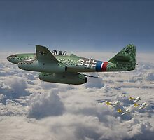 Me262 - Stormbird by Pat Speirs