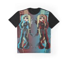 Planetouched Twins Graphic T-Shirt