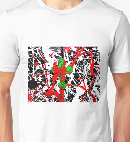 Cross with Abstract 3 Unisex T-Shirt