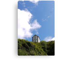 House on the Cliff Canvas Print