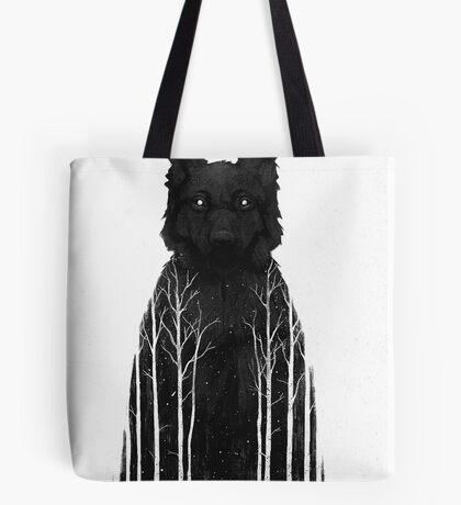 The Wolf King Tote Bag