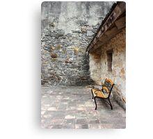 San Juan Courtyard Canvas Print