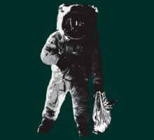 Astronaut with grocery bag. by itsmadgical