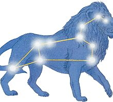 Leo the Lion Constellation by emrapper