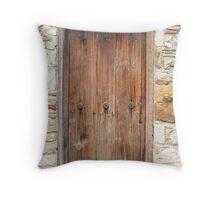 San Juan Doorway Throw Pillow