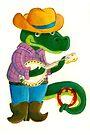 The Banjo Alligator by Sanne Thijs