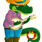 The Banjo Alligator by Sanne Thijs