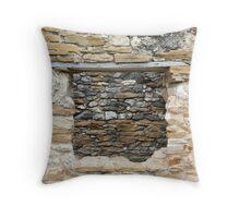San Juan Window 4 Throw Pillow