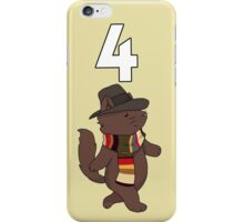 Fourth Doctor Cat — Doctor Who iPhone Case/Skin