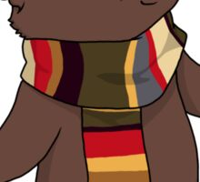 Fourth Doctor Cat — Doctor Who Sticker