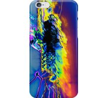 The Star Ship is being attacked by rainbows inverted experiential photograph iPhone Case/Skin