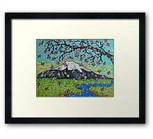 View from the Cherry Tree Framed Print