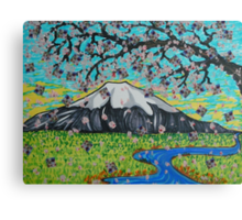 View from the Cherry Tree Canvas Print
