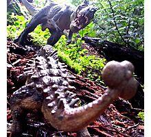 Prehistoric Showdown Photographic Print