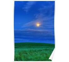 Night time photography Poster