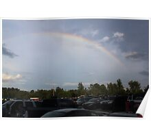 Drive-In Rainbow Poster