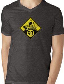 ninety-three: the classic (yellow) t-shirt Mens V-Neck T-Shirt