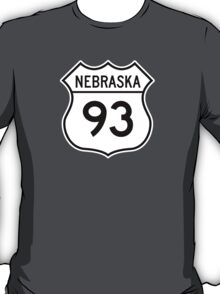 ninety-three: the highway t-shirt T-Shirt