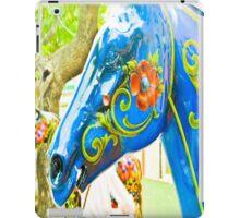 Horse quaint and fun. iPad Case/Skin