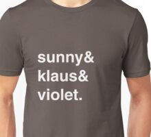 The Baudelaires Unisex T-Shirt