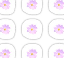Pale Pink Flower Sticker