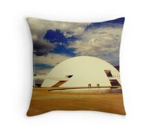 The National Museum in Brasilia, Brazil Throw Pillow
