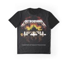 METROIDVANIA Master of Backtracking Graphic T-Shirt