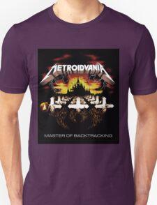 METROIDVANIA Master of Backtracking Unisex T-Shirt
