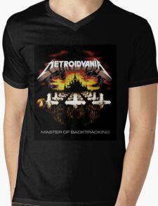 METROIDVANIA Master of Backtracking Mens V-Neck T-Shirt
