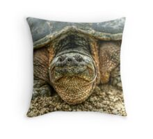 Snapping Turtle VI Throw Pillow