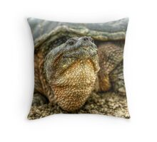 Snapping Turtle VII Throw Pillow