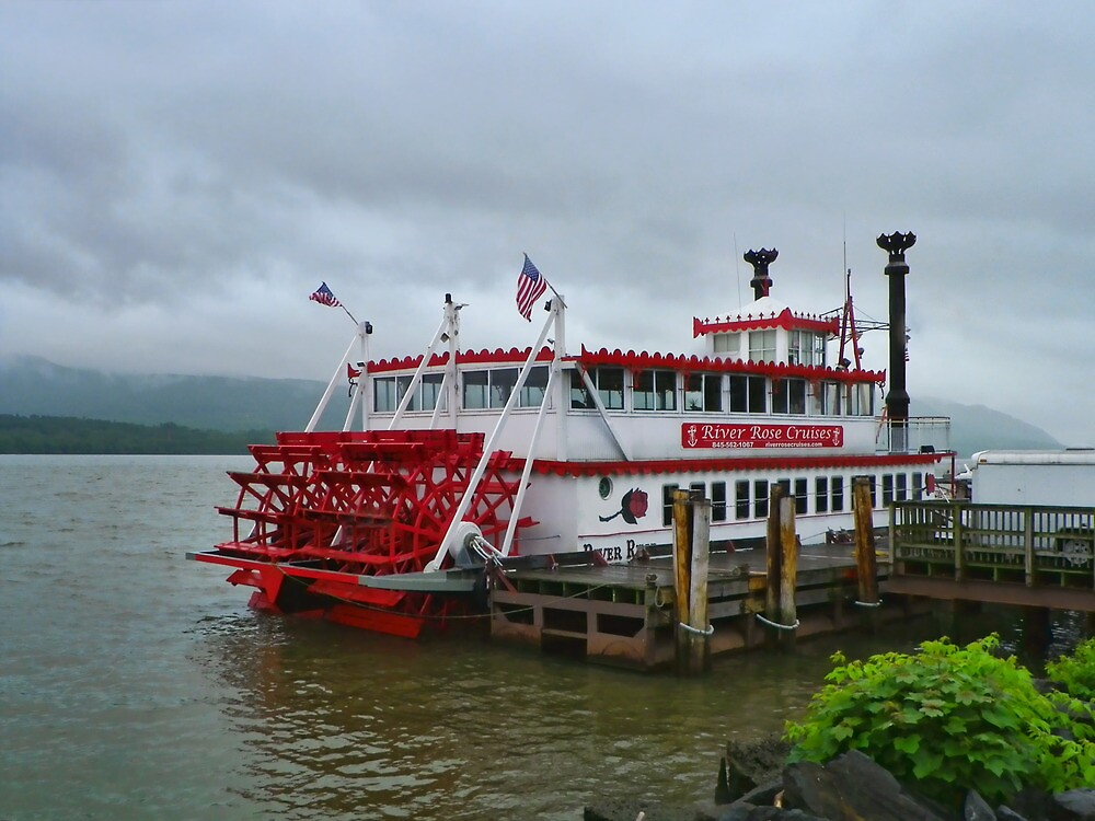 Stern Driven Paddle Wheel Vessel by PineSinger
