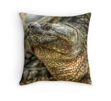 Snapping Turtle XI Throw Pillow