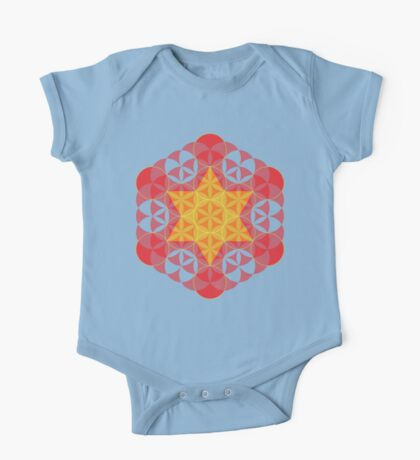 Flower of life 03 One Piece - Short Sleeve