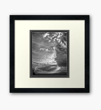 ©HCS The Shining Beauty Framed Print