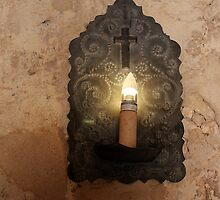 Mission Concepcion Light Fixture by marybedy
