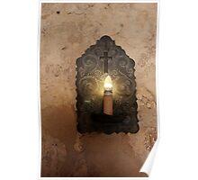 Mission Concepcion Light Fixture Poster