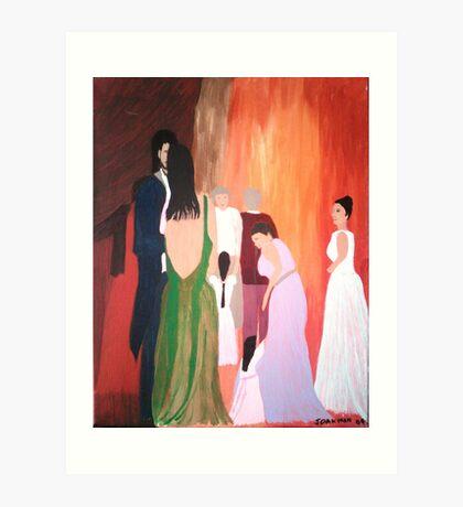 The Wedding - Acrylic Painting Art Print